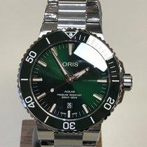 Oris Aquis Date Green Dial