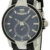 Technomarine Ladies UF6 Black Leather Watch