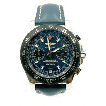 Breitling Skyracer Steel 43,5mm Blue No numerals