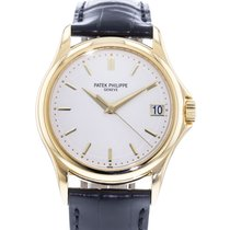 Patek Philippe Calatrava Yellow gold 38mm White United States of America, Georgia, Atlanta
