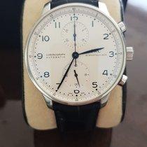 IWC Portuguese Chronograph Steel Black No numerals UAE, Dubai