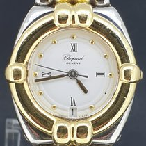 Chopard Gstaad Goud/Staal 22mm Wit Romeins