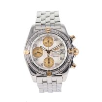 Breitling Chrono Cockpit Gold/Steel 39mm Mother of pearl