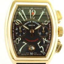 Franck Muller Conquistador Pозовое золото 40mm Черный Aрабские