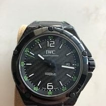 IWC Carbon Automatic Black Arabic numerals 46mm pre-owned Ingenieur Automatic