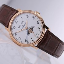 Blancpain Villeret Quantième Complet Rose gold 42mm White Arabic numerals United States of America, New Jersey, Princeton