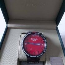 Swatch Plastique 47mm Quartz SO27Z701S nouveau France, suresnes
