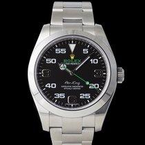 Rolex Air King Acero 40mm Negro