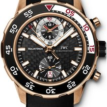 IWC Aquatimer Chronograph Rose gold 44mm Black No numerals United States of America, New York, New York