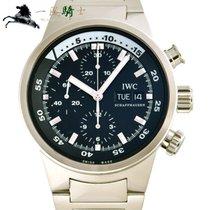 IWC Aquatimer Chronograph Aço 42mm Preto