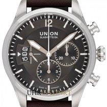 Union Glashütte Steel 45mm Automatic D009.627.16.087.00 new