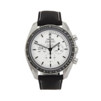 Omega Speedmaster Professional Moonwatch Steel 42mm White United Kingdom, Bishop's Stortford