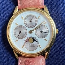 Piaget Gouverneur Yellow gold ca.34mm White