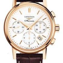 Longines Men's L27338722 Heritage Chronograph Watch