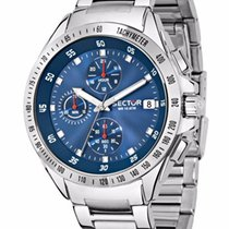 Sector R3273687002  720 44mm Blue dial Stainless steel bracelet
