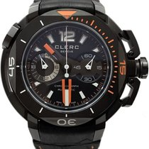 Clerc 43.8mm Automatic Hydroscaph L.E. Central Chronograph