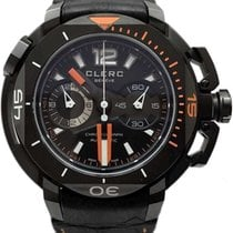 Clerc 43.8mm Automatic Hydroscaph L.E. Central Chronograph United States of America, Florida, Naples