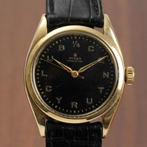 Rolex 6422 Yellow gold 1959 Oyster Precision 34mm pre-owned
