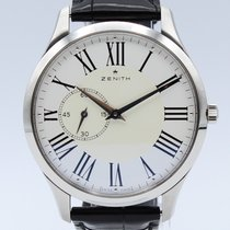 Zenith Elite Ultra Thin Acero 40mm Blanco Sin cifras España, Barcelona