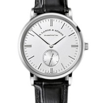 A. Lange & Söhne White gold 35mm Manual winding 219.026 new