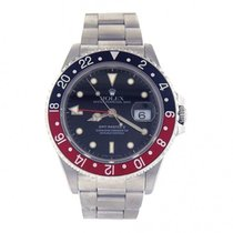 Rolex GMT Master II Coke Bezel Stainless Steel Automatic Men's...