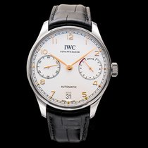 IWC Portuguese Automatic new Automatic Watch with original box and original papers IW500704