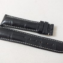 Montblanc Strap Sport Black Alligator 20mm
