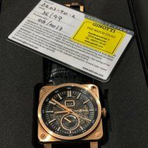 Bell & Ross BR 03-90 Grande Date et Reserve de Marche pre-owned 42mm Date Leather