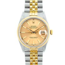 Rolex 16233 Steel 1990 Datejust 36mm pre-owned United States of America, California, San Francisco
