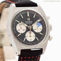 Tissot Chronograph 34mm Manual winding 1970 pre-owned Black