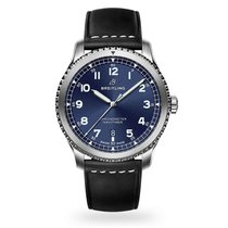Breitling Navitimer 8 Steel 41mm Blue Arabic numerals United States of America, New York, New York
