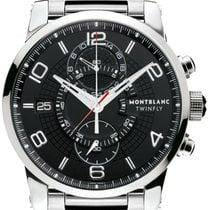 Montblanc Timewalker Steel 43mm Black Arabic numerals United States of America, California, Moorpark
