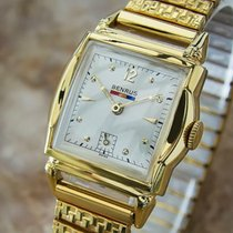 Benrus Gold/Steel 28mm Manual winding pre-owned