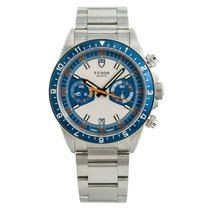 Tudor Heritage Chrono Blue Steel 42mm Blue No numerals United States of America, New York, New York