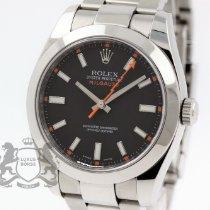 Rolex Milgauss Stahl 40mm Schwarz Keine Ziffern Schweiz, Zürich
