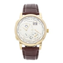 A. Lange & Söhne Yellow gold Manual winding Champagne Roman numerals 41.9mm pre-owned Lange 1