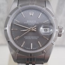 Rolex Oyster Perpetual Lady Date Сталь 26mm Без цифр
