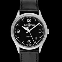 Bell & Ross BR V1 new 2021 Automatic Watch with original box and original papers BRV192-BL-ST/SCA