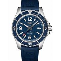 Breitling Superocean 44 Сталь 44mm Синий Aрабские