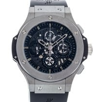Hublot Tungsten Automatic Transparent 44mm pre-owned Big Bang Aero Bang