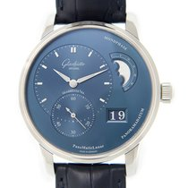 Glashütte Original PanoMaticLunar Staal 40mm Blauw
