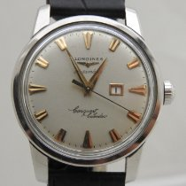 Longines Steel 35mm Automatic Longines conquest calendar pre-owned
