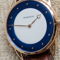 De Bethune Rosa guld 44mm Automatisk DB25 White Night ny