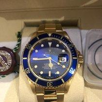 Rolex 16618 Or jaune 2000 Submariner Date 40mm occasion
