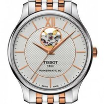Tissot Tradition Staal 40mm Zilver