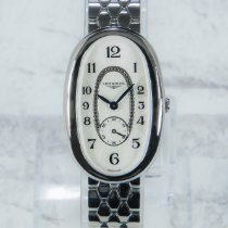 Longines Symphonette Steel 25mm Mother of pearl Arabic numerals