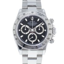 Rolex Daytona pre-owned 40mm Black Steel