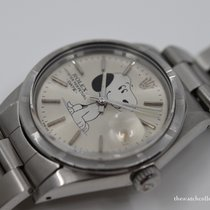 Rolex Oyster Perpetual Date 34mm Plata
