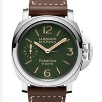 Panerai Luminor Marina 8 Days new 2020 Manual winding Watch with original box and original papers PAM 00911