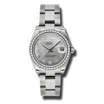 Rolex Lady-Datejust Сталь 31mm Перламутровый Aрабские